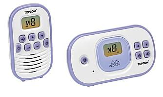 TopCom Babytalker 1020:  Denne modellen viser et utmerket bilde  og bra lyd.