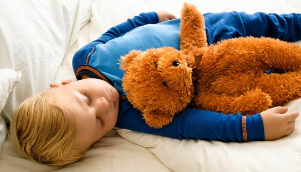 KRANGLER OM SØVN: Nesten 60 prosent i en unsersøkelse gjort av Foreldre & Barn, svarer at lite nattesøvn bidrar til konflikter i familien.