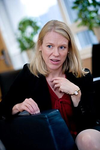 OM BARN OG KARRIERE: - Det å få barn er mye mer jobb enn de fleste tror. Det tar mye tid, sier barne- og likestillingsminister Anniken Huitfeldt.