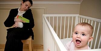 ETTBARNSMØDRE: Sove dårligere enn flerbarnsmødre.