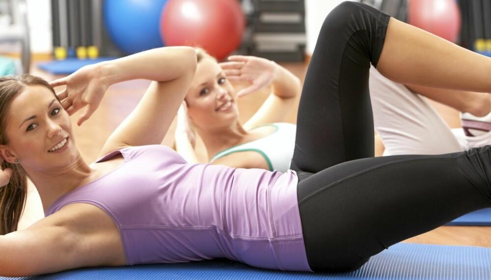 TIGHTS: En tights som sitter godt er påkrevd om du skal nyte treningen maksimalt.