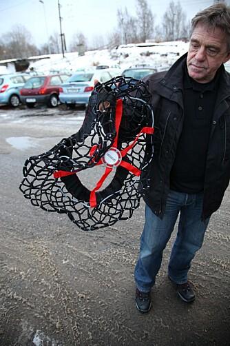 EASY: Easy Grip fra Michelin hadde den enkleste bruksanvisningen og egenskaper vi likte god. FOTO: Terje Haugen
