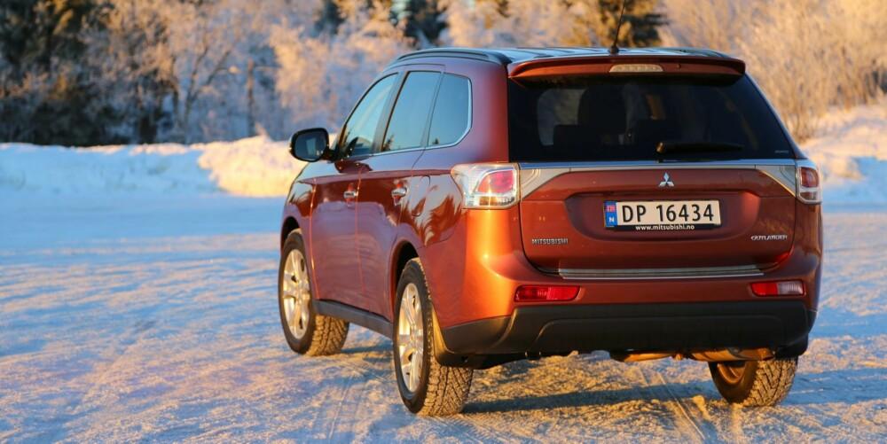 OUTLANDER: Prisene starter på 299 000 kroner for billigste versjon med 150 hk bensin. FOTO: Terje Bjørnsen