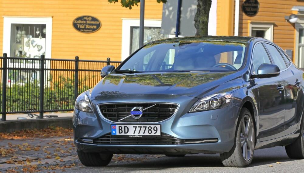 BRA INNGANGSMODELL. Volvo V40 D2 koster fra 250 000 kroner. Til 300 000 får du en enda trivligere versjon.