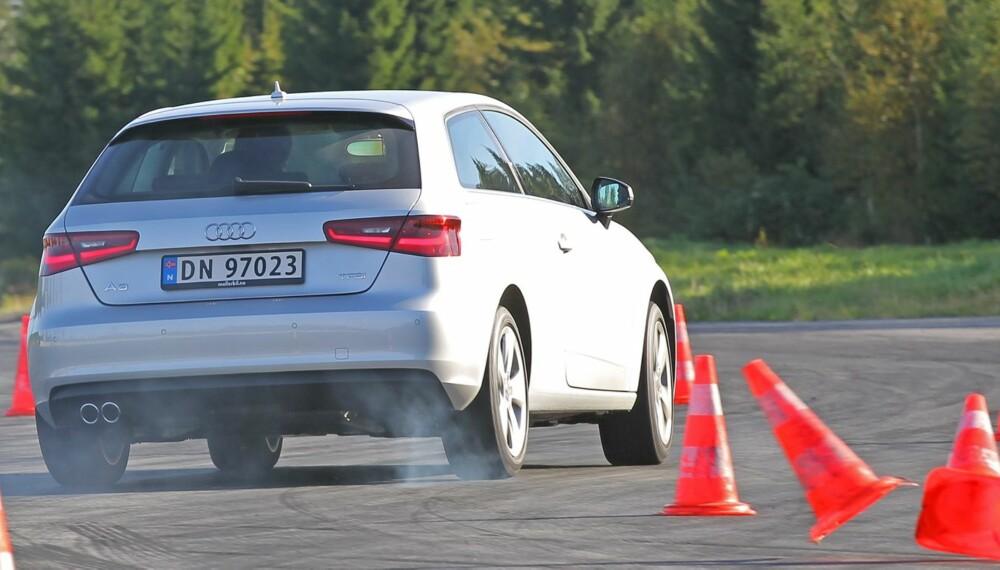 TO MOTORER: Audi A3 har bevist at den er klasseledende med to forskjellige motoralternativer.