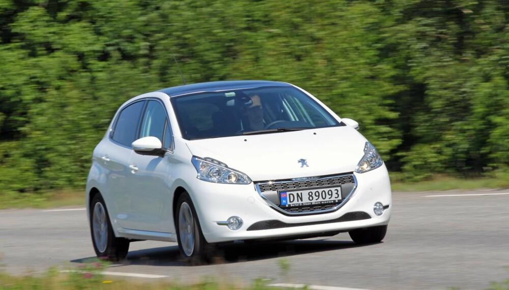VIKTIG BIL: For Peugeot er småbilsegmentet et veldig viktig marked. Her til lands er det imidlertid flere som velger de større kompaktbilene.