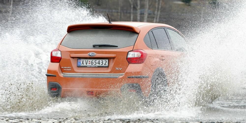 RØFF: På typisk Subaru-vis blir den bare tøffere og tøffere etter hvert som man strekker strikken. Foto: Petter Handeland