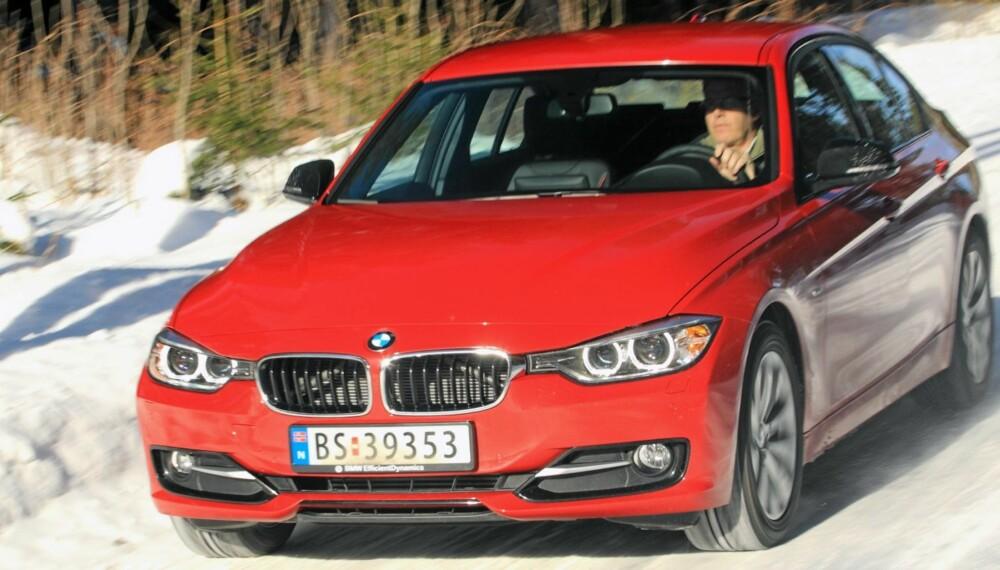 SPORTY PREMIUM: Ingen kombinerer sportslige veiegenskaper og utmerket kvalitetsfølelse som nye BMW 3-serie.