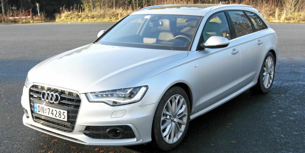 POWER: Audi A6 Avant uttrykker sportslighet, eleganse og soliditet.