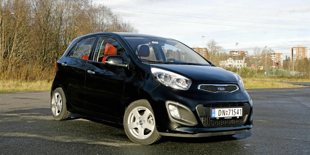 SMÅTØFF: Mens den forrige Picantoen var en dørgende kjedelig minibil, er den nye versjon mer moderne i formspråket.