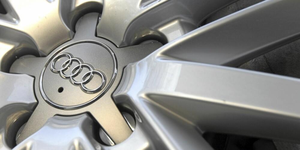STORT: 19-tommers felger med store hjul er med på å sikre formidabelt veigrep.