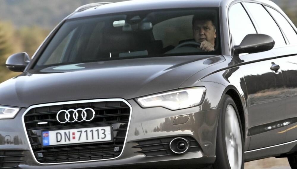 LUKSUS FOR FAMILIEN: Med råsterk treliters diesel og quattro firehjulsdrift er Audi A6 Avant en bil for de fleste anledninger.