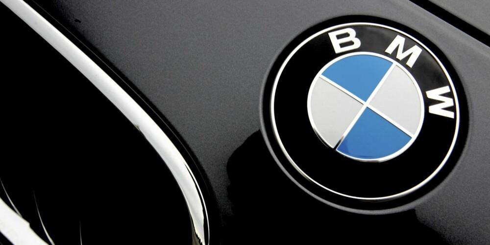 MERKEVERDIER: BMW-propellen på panseret er fortjent. Selv den billigste BMWen har kvaliteter det står respekt av.
