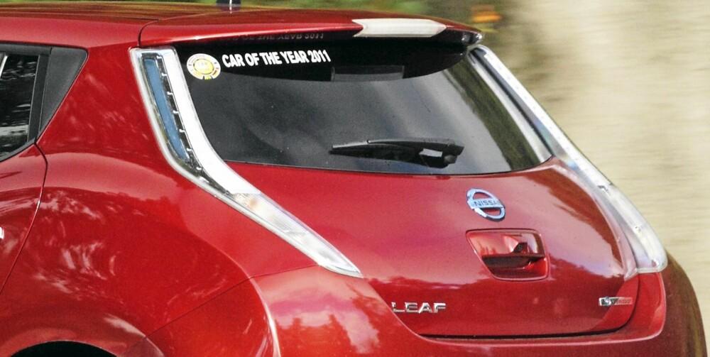 À LA LANCIA: Baklyktene ser ut som noe Lancia har drevet med i noen år.