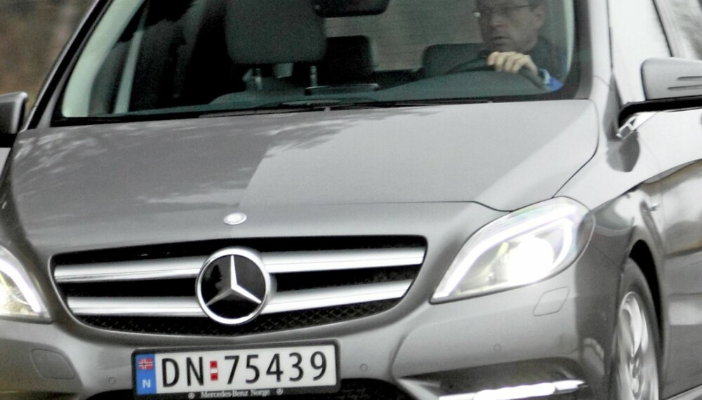 UTSEENDET LYVER: Vi synes Mercedes B-klasse ser litt vel klumpete ut. På veien er den derimot en topp moderne premiumbil med fine kjøreegenskaper.