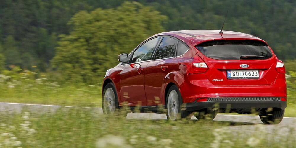 GOD PÅ VEIEN: Nye Ford Focus har blitt mer voksen enn forgjengeren og er blitt mer komfortabel.