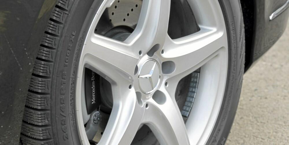 STORE NOK: 18-tommerne på vår testbil ser vi på som et godt kompromiss mellom utseende og komfort.