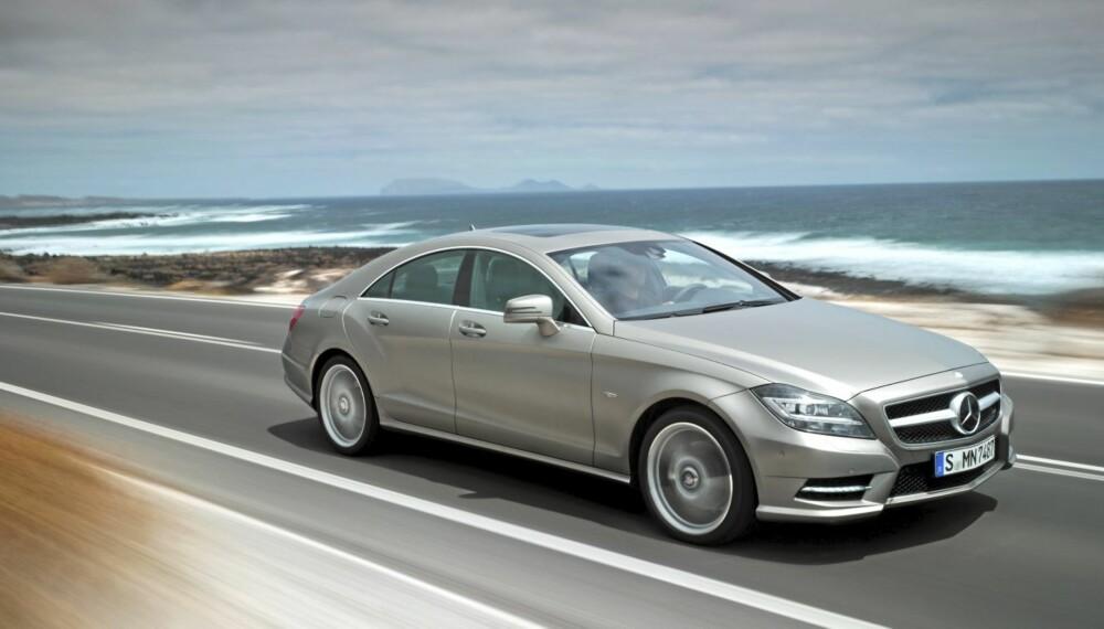 KOMFORTABEL: CLS er en av de mest komfortable bilene som finnes i dag.