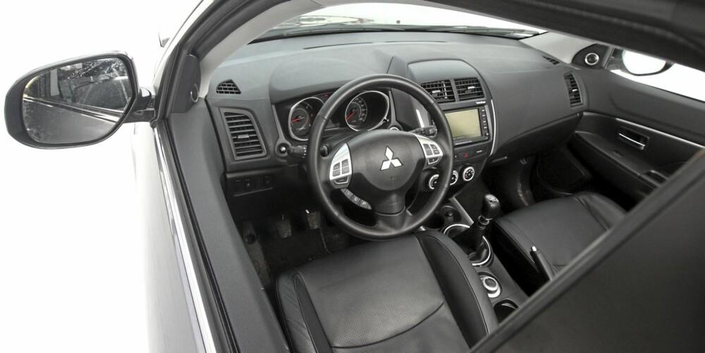 HOLDER SEG: Dekra melder om at Mitsubishi ASX holder seg godt - selv med relativt høy kilometerstand.
