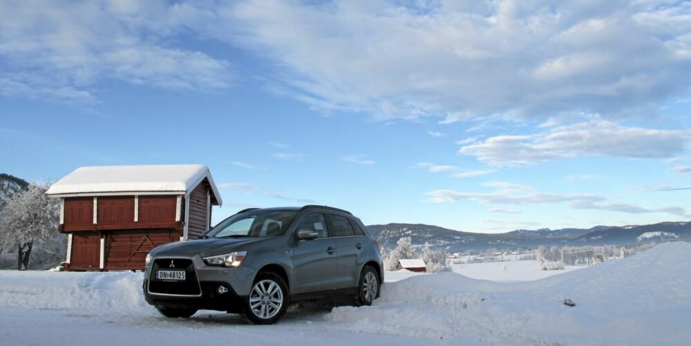 TRIVES: På vinterføre får du virkelig uttelling for 4WD og robuste veiegenskaper i Mitsubishi ASX.