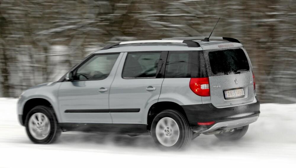 IKKE AVSKYELIG: Designen er omdiskutert, men under skallet skjuler det seg en fin bil med litt snau plass.