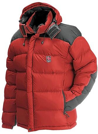 TIL KALDE DAGER: Meget god jakke til daglig bruk på de kaldeste dagene.