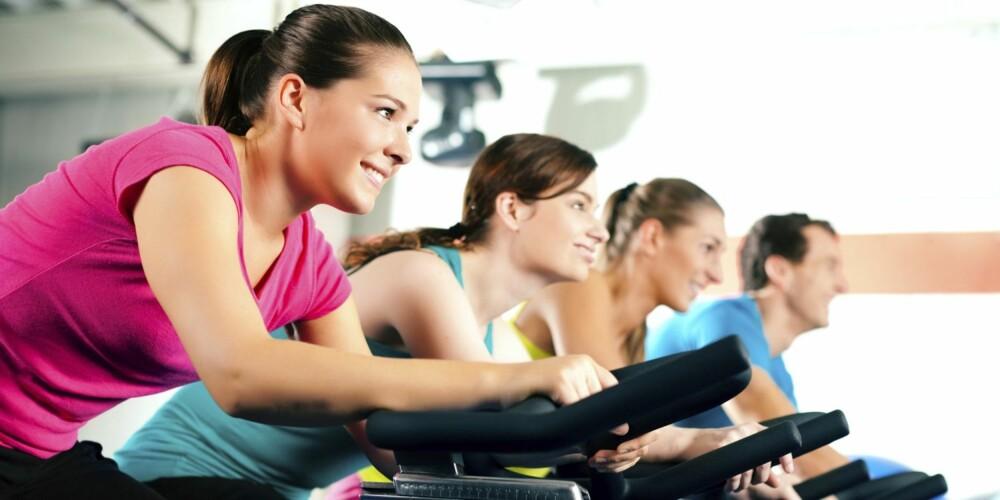 KORTE PAUSER: Det kan være dumt å ta lange pauser mellom treningsøktene, for kroppen forfaller raskere enn du skulle ønske.