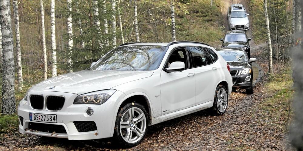 TEST: Bilene på test i Vålerbanens terrengløype.
