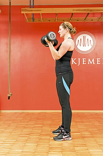 YNGVAR SPESIAL 3: Bicepscurl