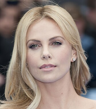 OVAL: Charlize Theron.