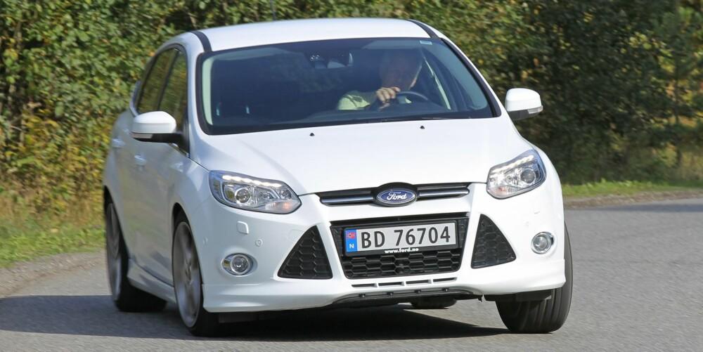 MESTEREN: Ford Focus er fortsatt kjøremesteren.