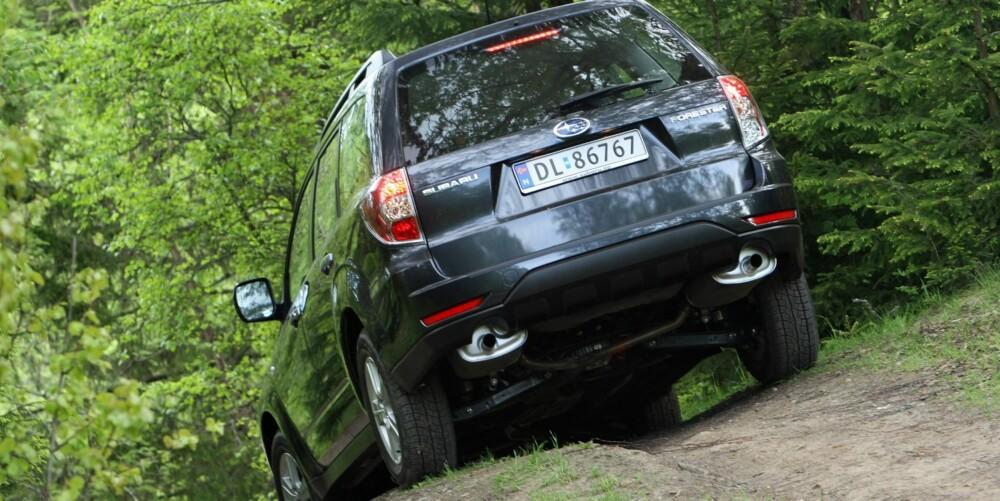 FÅ PROBLEMER: Forrige generasjonen av Forester er en bil som teknisk sett holder seg godt og gir få store problemer. Det er grunn til å tro at det samme gjelder denne generasjonen. FOTO: Egil Nordlien, HM Foto