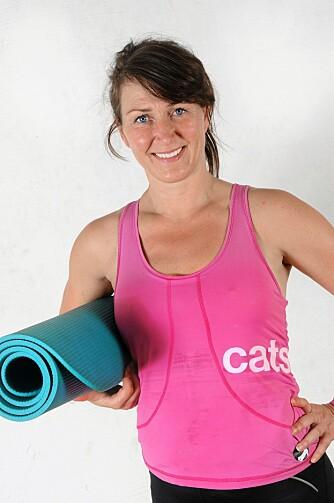 INSTRUKTØR:  Treningsekspert Christina Støle Therkildsen.