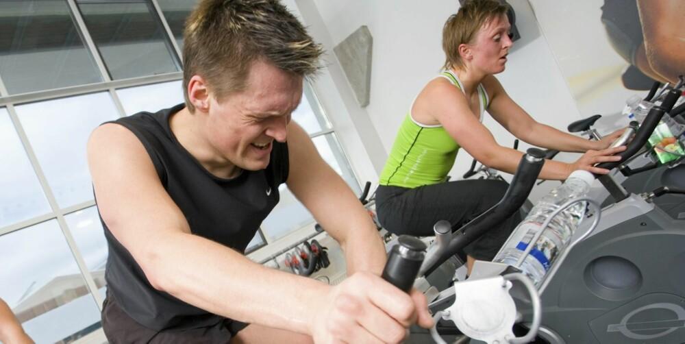 HØYINTENS: Med mer intensive økter sparer du tid, og du ser resultater raskere.