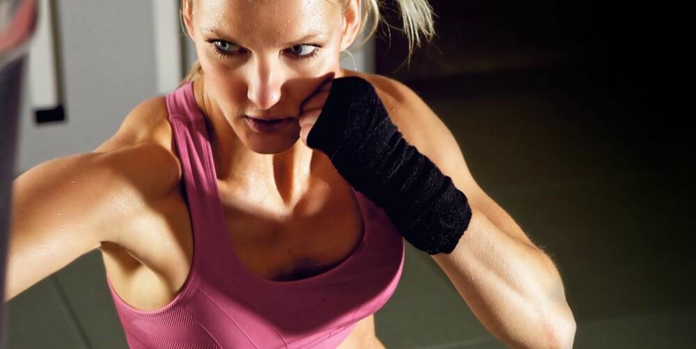 VÆSKEBALANSE: Du må aldri trene hvis du er sulten og heller ikke uten at du har fått i deg nok væske.