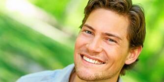 PENT SMIL: Er det ille fatt, kan du vurdere estetisk tannpleie. Bleking er mest populært.