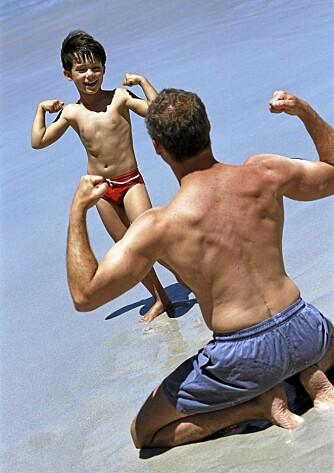 SPREKERE: Det er lettere å være en aktiv far uten overflødige kilo.