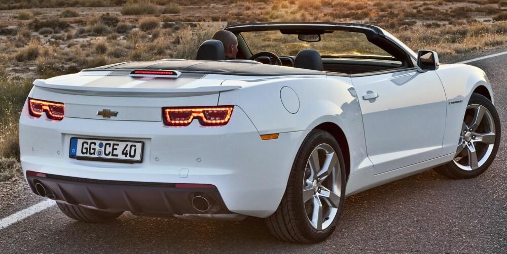 DYR: Motorstørrelsen medfører at bilen blir uhorvelig kostbar i Norge.