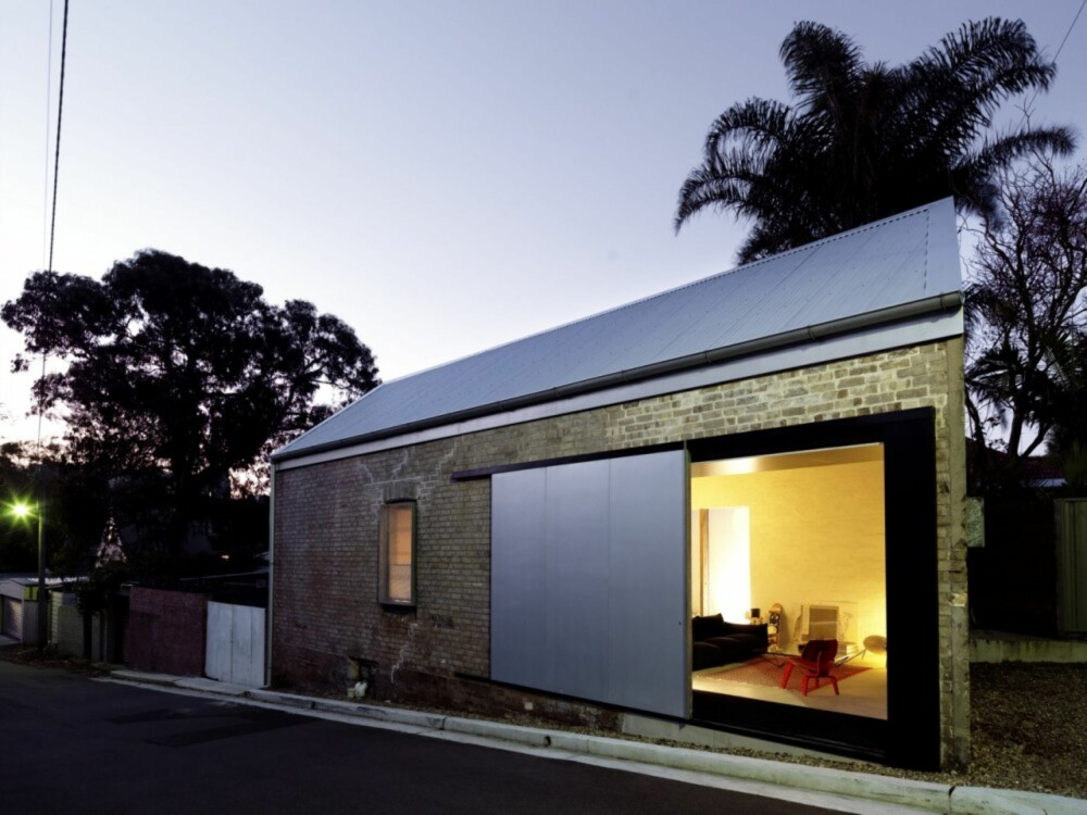 STEMNINGSFULLT: Det er vanskelig å forestille seg at dette flotte hjemmet ble laget av et 120 år gammelt skur.