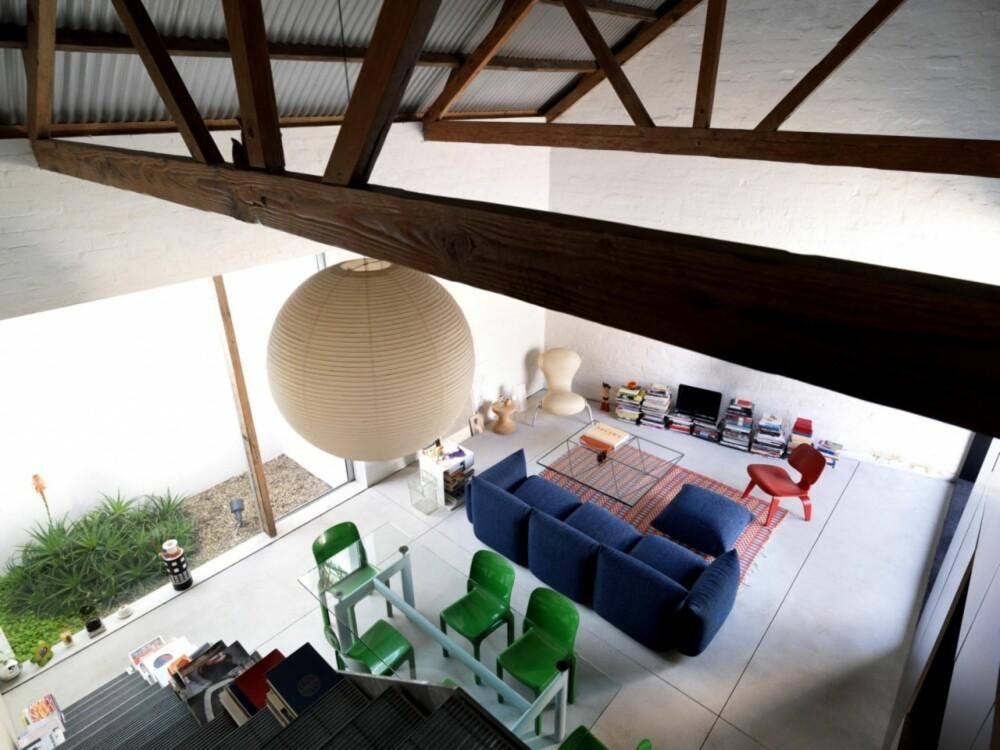 FORM OG FUNKSJON: I denne kompakte boligen måtte man tenke både form og funksjon for at huset skulle fungere optimalt.