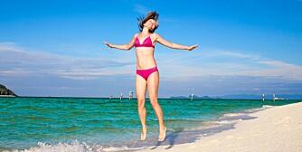 BEDRE KONDIS: Sett deg et konkret mål på tid eller avstand for å bedre kondisen til bikinisesongen.