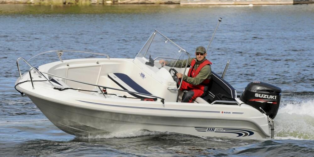 ENKEL: En skjærgårdsjeep er ofte en god nybegynnerbåt. De er relativt enkle å både håndtere og vedlikeholde.
