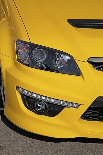 ANSIKTSLØFT: Mer pyntestæsj denne gangen, inkludert nye kjørelys med LED-pærer