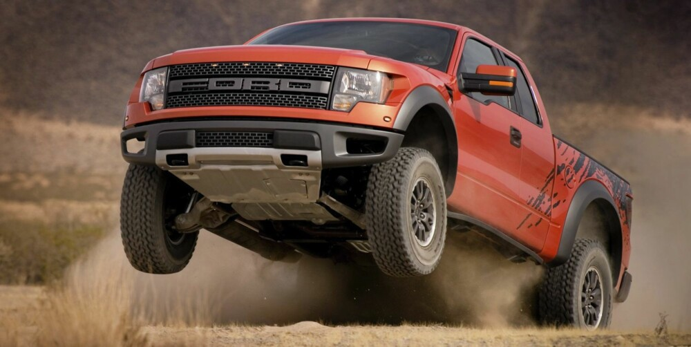BARSKING: Ford F-150 Raptor. FOTO: Ford