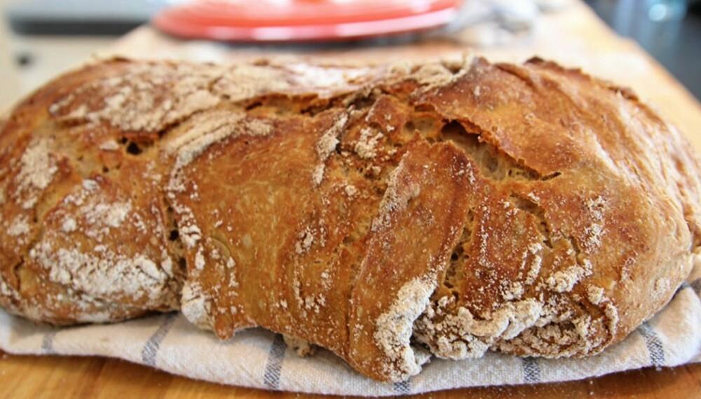 DET BESTE BRØDET DU HAR BAKT: Du klarer ikke bake bedre brød enn det her.