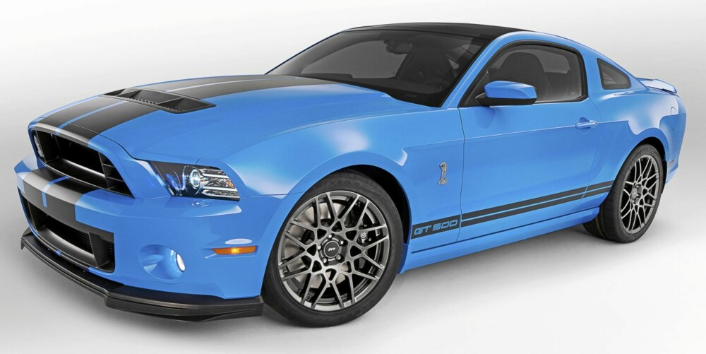 RIVAL: 2013 Ford Shelby GT500. Foto: Ford