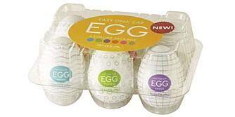 SEXLEKETØY: Easy Ona Cap egg (Tenga)