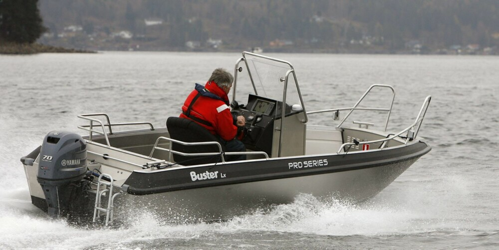 BUSTER: Buster passer best til deg som oftest er på sjøen for å fiske eller å transportere, og kun en sjelden gang har behov for hyggeturer. FOTO: Petter Handeland