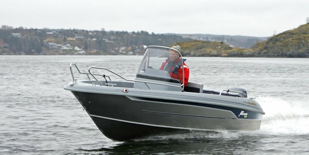 YAMARIN: Yamarin er et bedre valg om du bruker båten til andre ting enn fiske og vannsport. FOTO: Petter Handeland