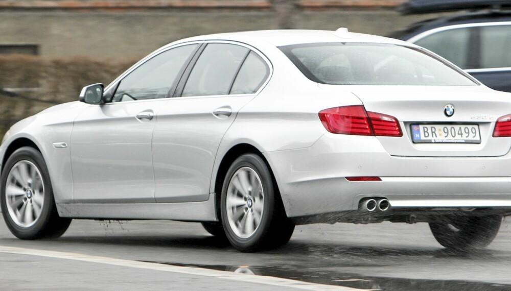 NYTELSE: 530d er en nytelse å kjøre. Enten du liker komfort eller noe sporty.